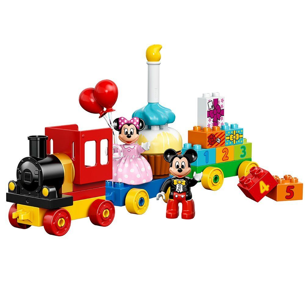 Build A Birthday Train Featuring Your Favorite Disney Characters Including A B Mickey Mouse Toys Disney Mickey Mouse Clubhouse Mickey Mouse Clubhouse Birthday