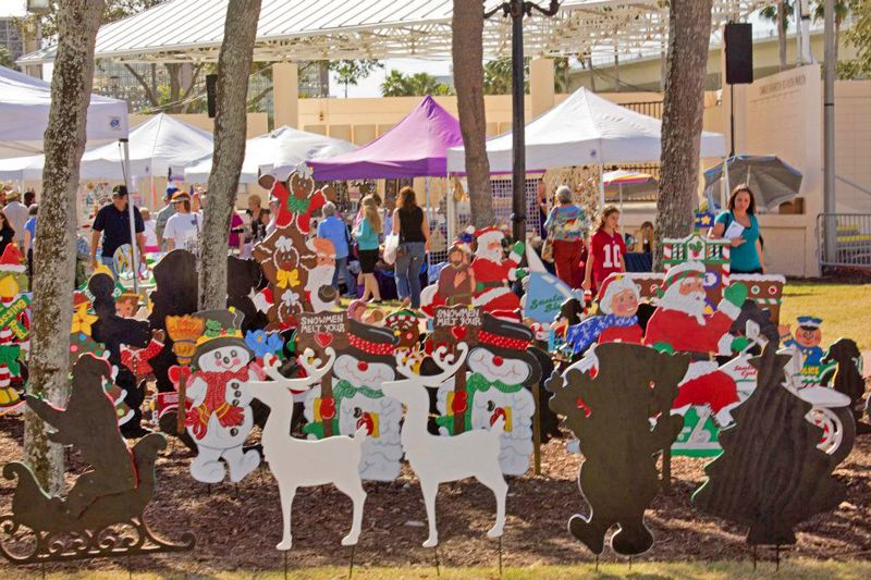 Christmas Under The Oaks.Vendor At Christmas Under The Oaks In Clearwater Fl