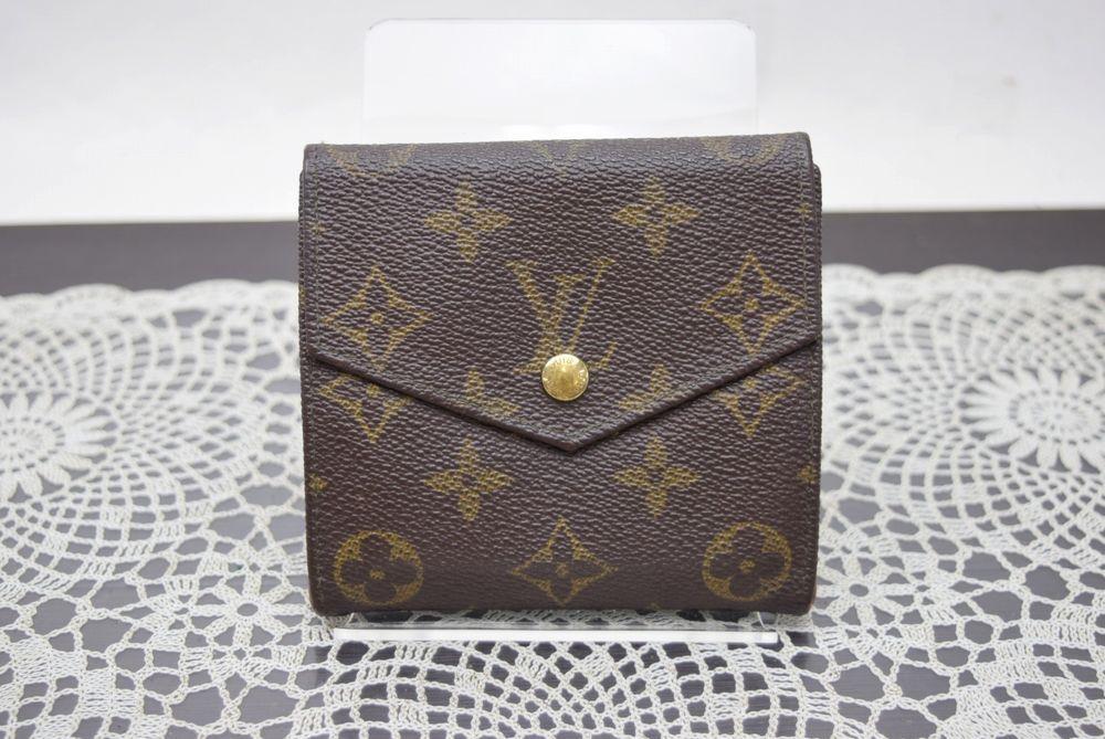 Authentic Louis Vuitton Wallet Vintage Elise Browns
