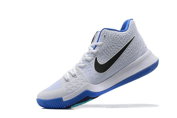 hot sales aeb52 d6cab 2018 Fashion Kyrie 3 Hyper Cobalt Chlorine Blue Volt White 2018 Kyrie  Irving Shoes 2018