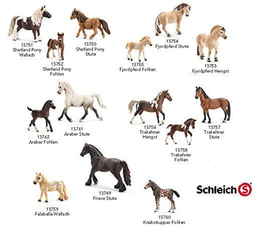 Schleich Pferde Neuheiten 2014 Kompletter Satz Mit 14 Pferden Schleich Pferde Pferdestall Puppen Geschenkideen Geschenk Jun Schleich Pferde Pferde Pferd