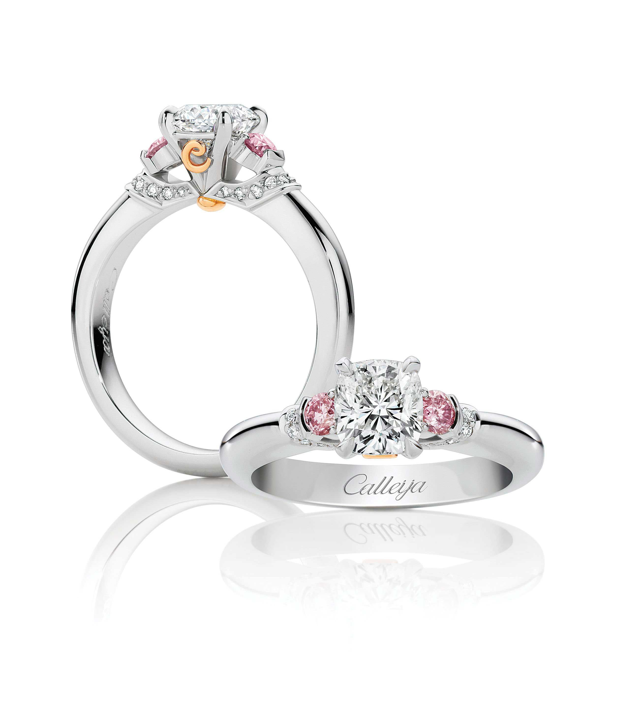 A beautifully handcrafted 1.52 ct round brilliant Calleija
