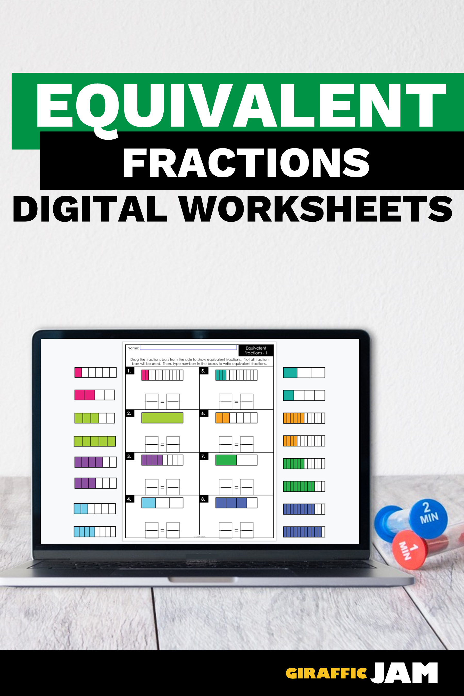 4th Grade Fractions Fraction Worksheets Equivalent Fractions Digital Worksheets D Fractions Worksheets Google Classroom Activities Fractions Elementary [ 2700 x 1800 Pixel ]
