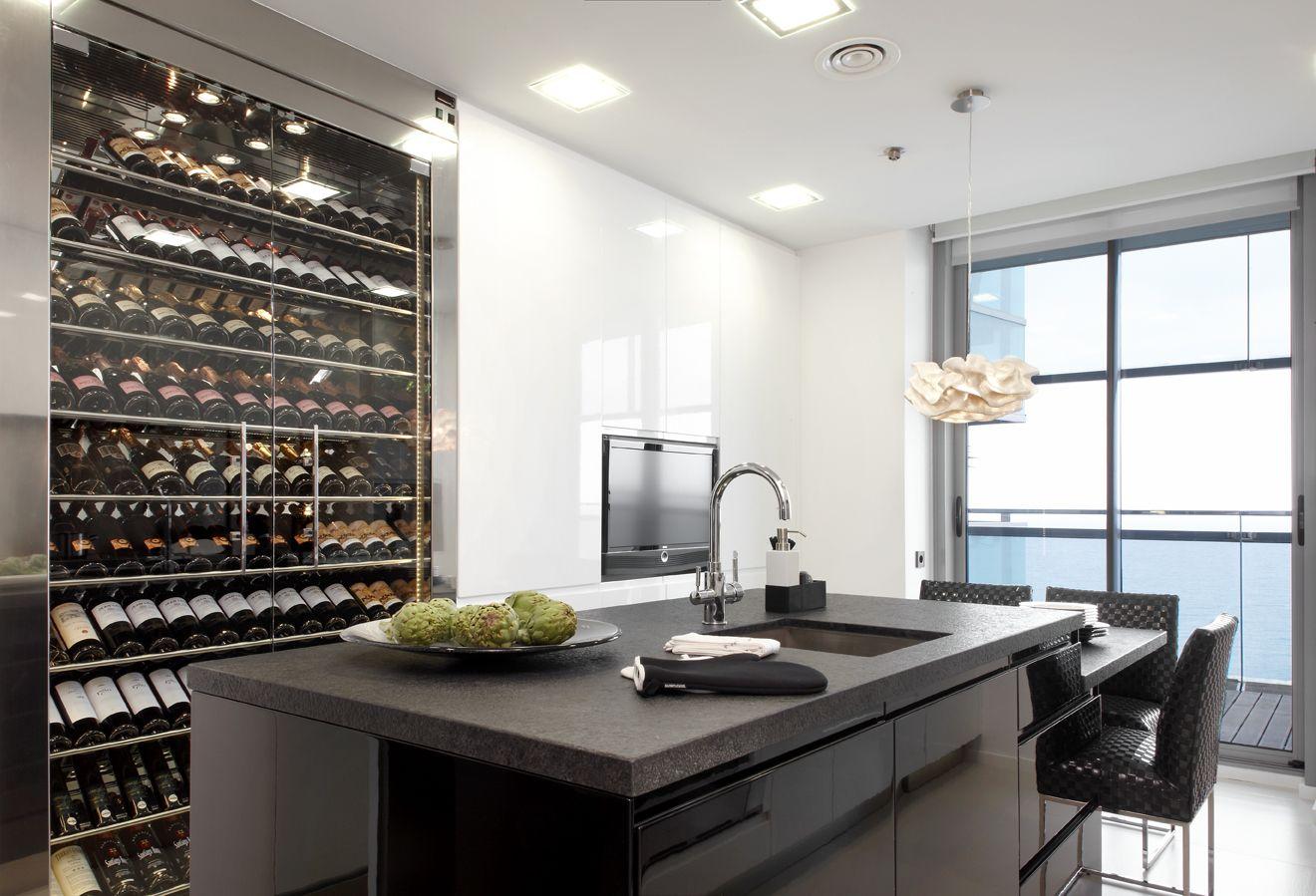 Molins interiors arquitectura interior cocina isla for Cocina definicion arquitectura