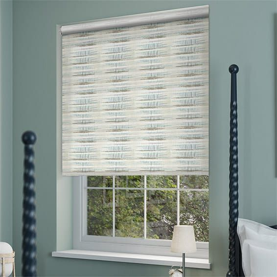curtains blinds qatar collections blue category in