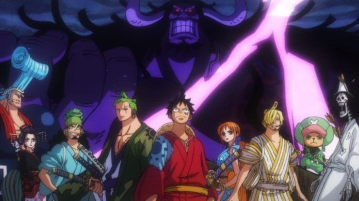 Pin On One Piece One piece wano live wallpaper