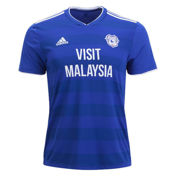 Gogoalshop Org Cardiff City 2018 19 Home Soccer Jersey In 2020 Cardiff City