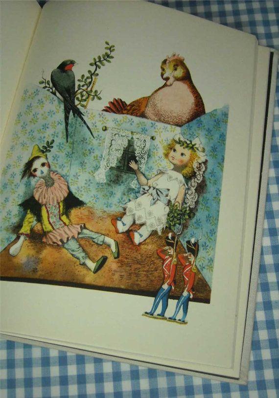 hans christian andersen's fairy tales vintage di vintagebookbazaar