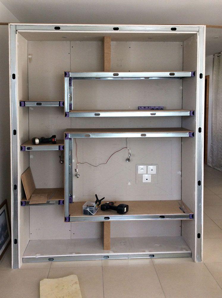 Pin by Nico T on Meuble placo Pinterest Architecture design - fabriquer meuble en placo