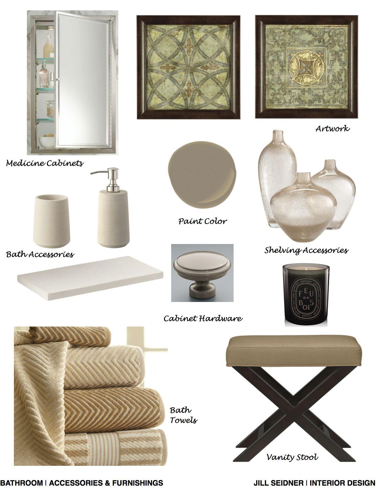 Monterey Heights CA Residence Bathroom Accessories & Furnishings