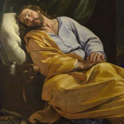 Philippe de Champaigne | The Dream of Saint Joseph | NG6276 | The National  Gallery, London | St joseph, St john bosco, Joseph