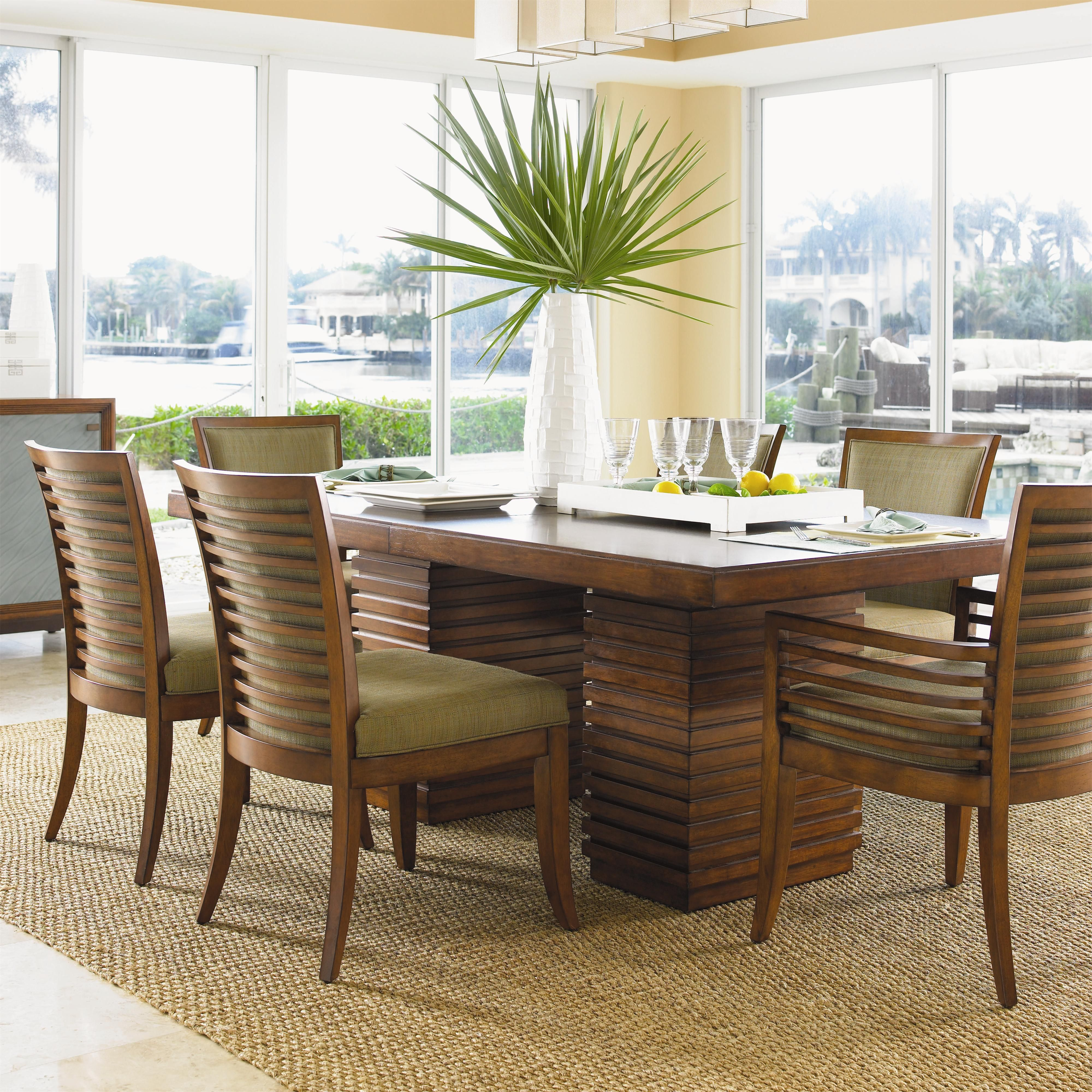 Ocean Club 7 Piece Table  My Future Home  Pinterest  Ocean Club Pleasing Tropical Dining Room Chairs Decorating Design
