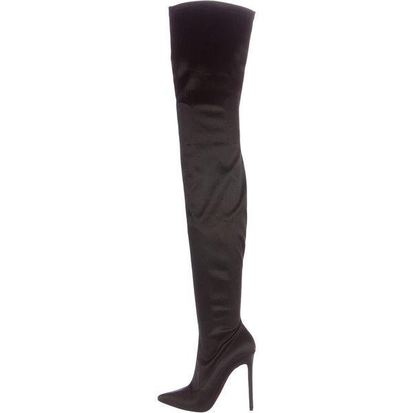 06b4c6e866c Pre-owned Christian Louboutin Lili Thigh-High Boots ( 1