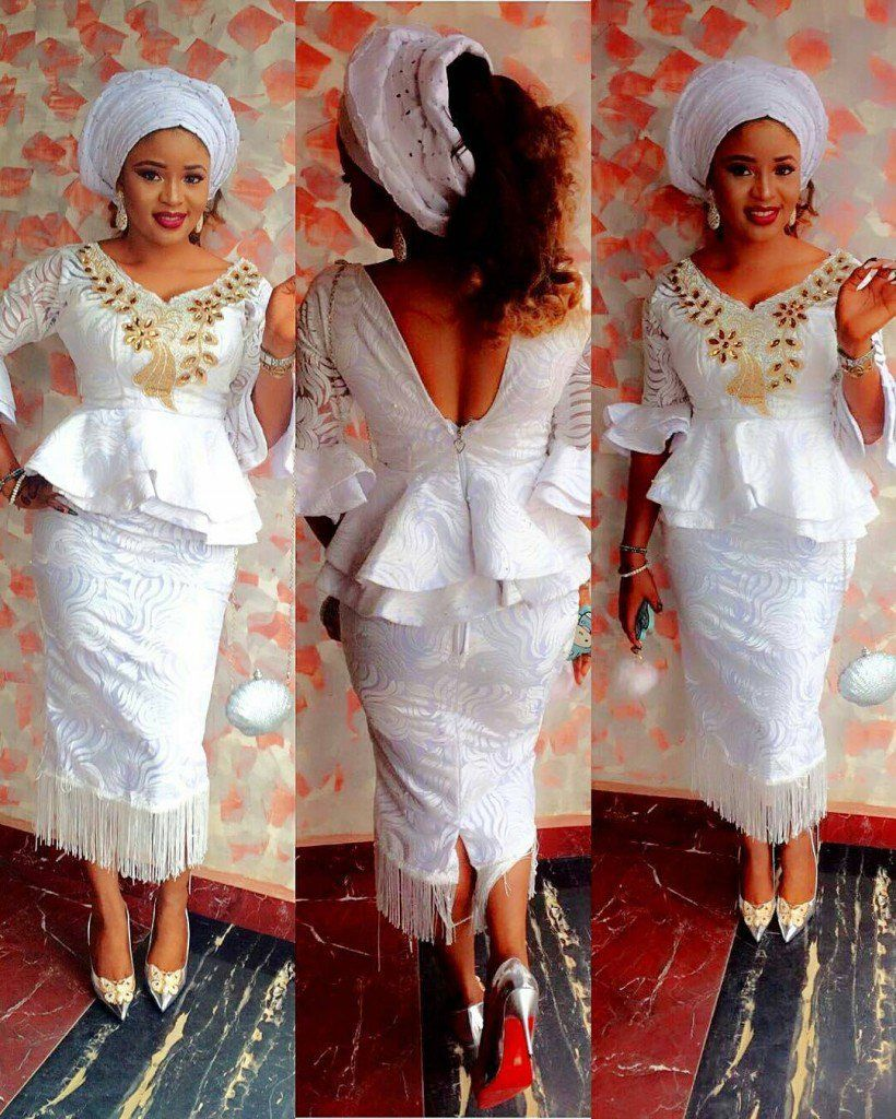 African white lace dress styles  Pin by Grace Victoria on African styles  Pinterest  Africans