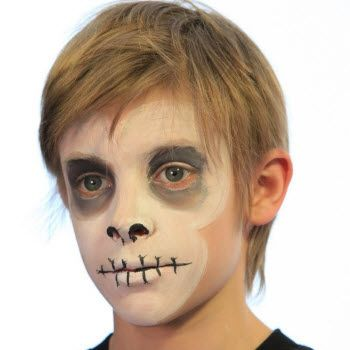 weve put collectively some really horrifying halloween face painting ideas for men women and kids these images will help you to paint your face yourself - Halloween Face Paint Ideas For Children