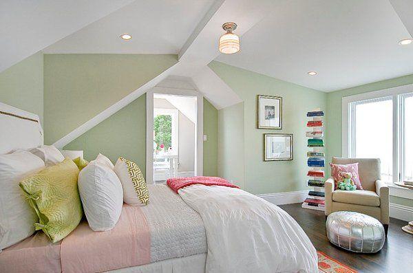 Resultado De Imagen Para Verde Pastel Habitaciones Green Bedroom Design Bedroom Green Blue Green Bedrooms