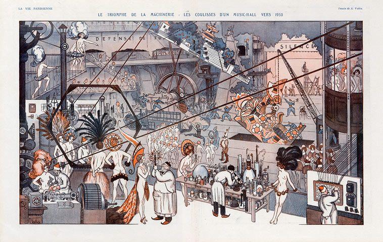 Armand Vallée (1884-1960). La Vie Parisienne,1923. [Pinned 22-i-2015]