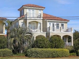 Sugar Beach 4 Br 3 Ba House Gulf View Gulf Front Pool Two Master Bedrooms With Images Florida Vacation Rentals Vacation Rental Panama City Panama