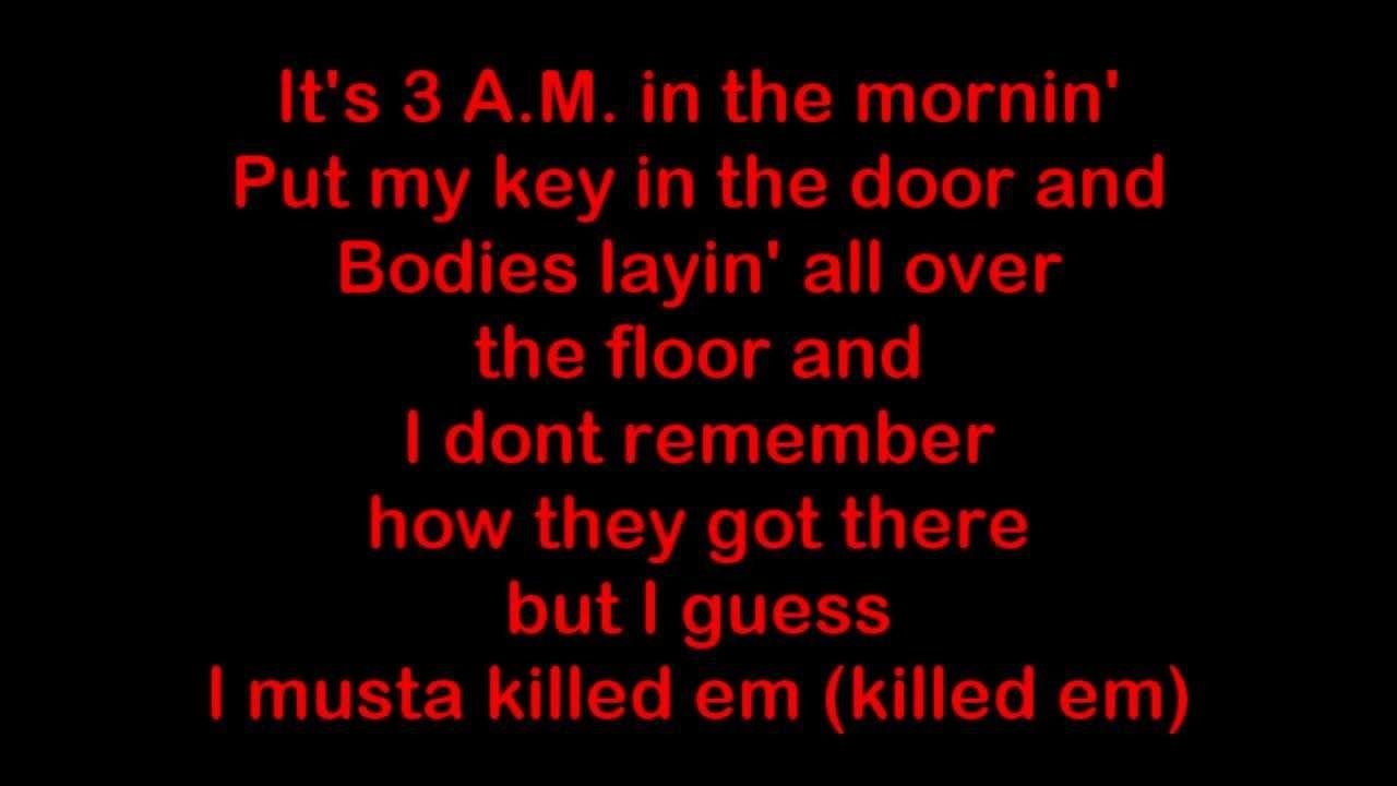 Eminem - 3 AM [HQ & Lyrics]