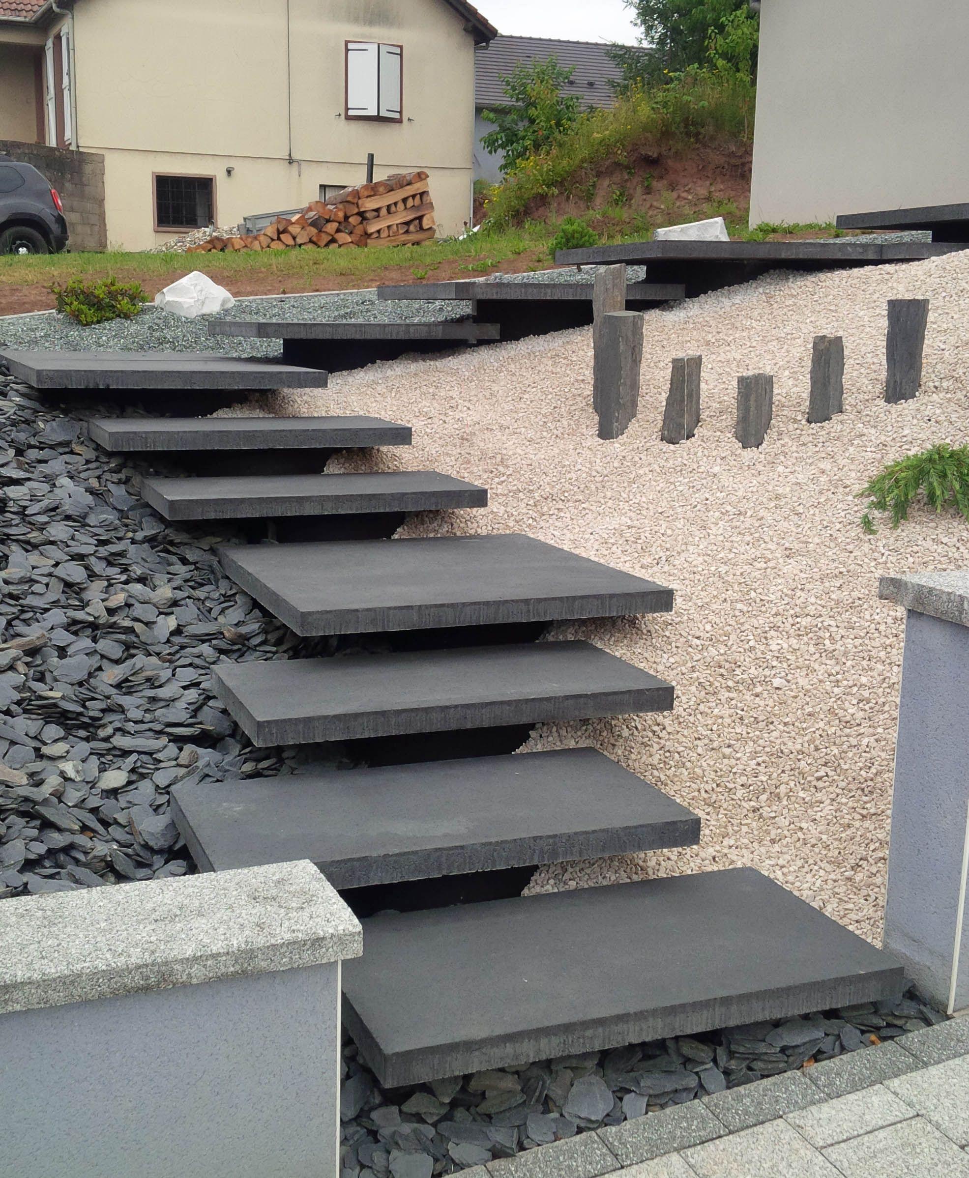 Infinito Moderno Vesuvio Garden Stairs Exterior Stairs Landscape Stairs