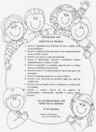 Resultado de imagem para direitos das crianças