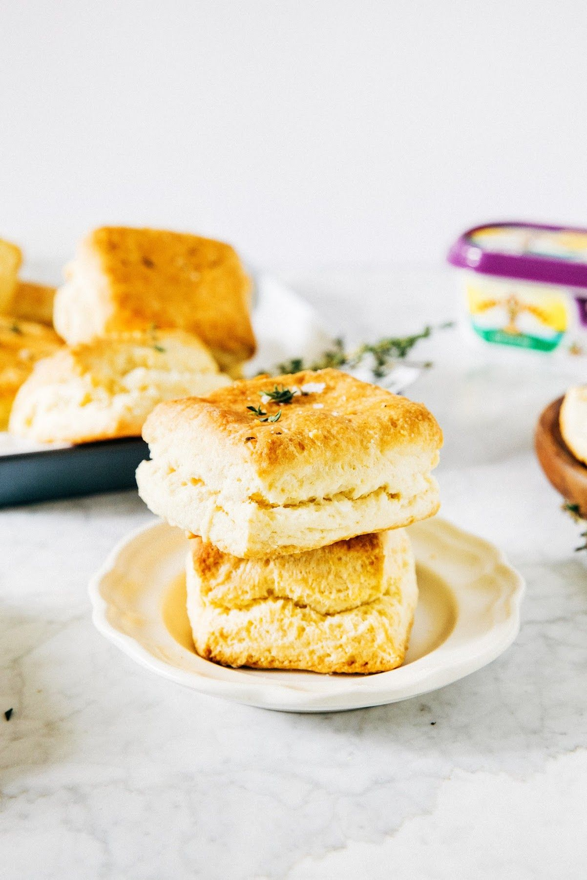 Garlic And Herb Buttermilk Biscuits Or How I Learned To Stop Worrying And Love The Biscuit Hummingbird High Recipe Buttermilk Biscuits Biscuits Biscuit Recipe