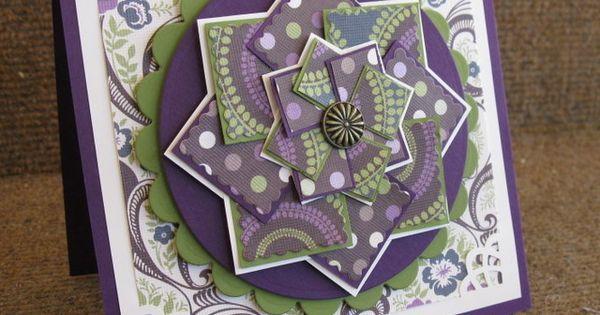 Pinwheels Cards And Windmills On Pinterest Cards Handmade