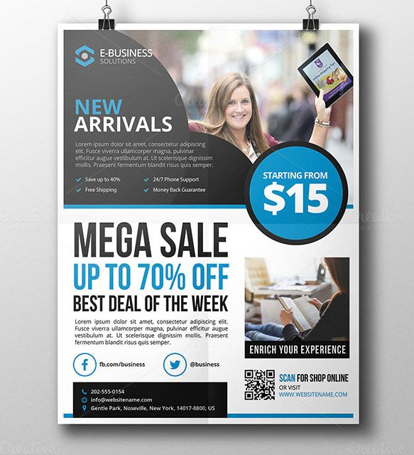 11+ Product Flyer Templates \ PSD Designs Free \ Premium - discount flyer template
