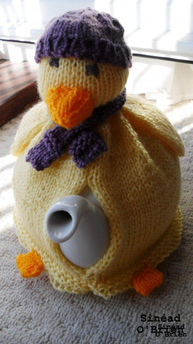 Duck tea cosy | Ducks | Pinterest | Hora del té y Las horas