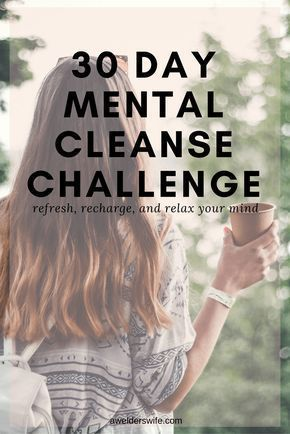 Mental Cleanse Challenge: It's Time for a Mental Health Cleanse
