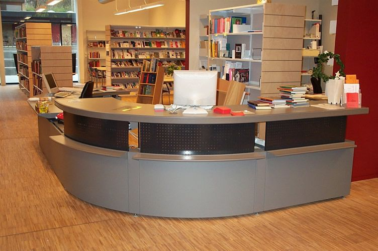 Image Result For Library Circulation Desks