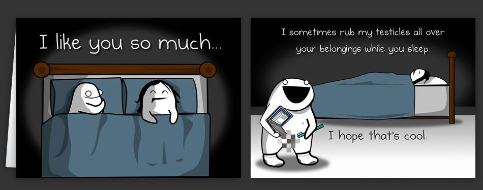 Horrible Cards Greeting Cards By The Oatmeal Haha Pinterest