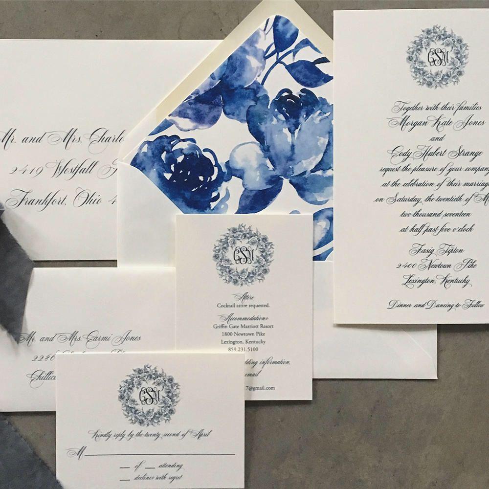 Peony Wreath Wedding Invitation Https Www Etsy Com Listing