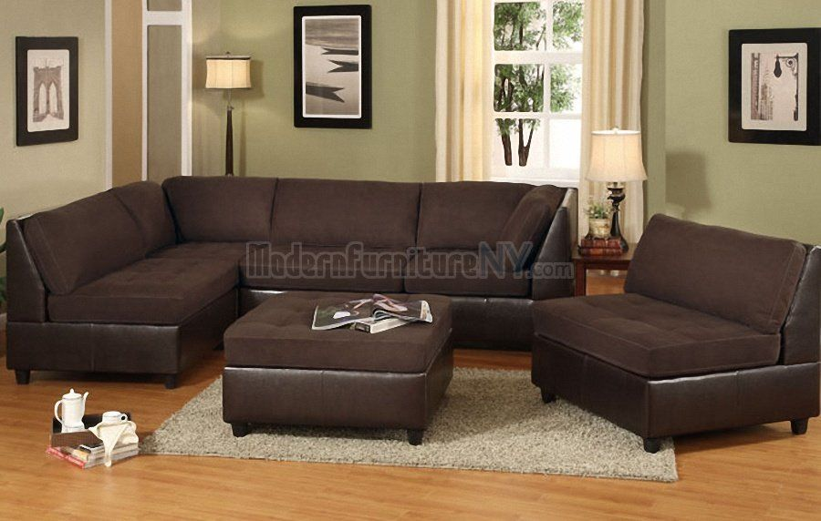 Love this wall color to match our brown couch for the - Brown couch living room color schemes ...