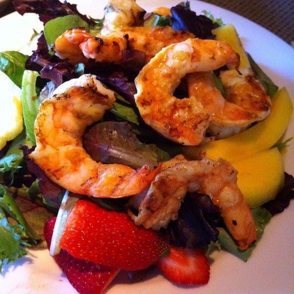 Tropical Shrimp Salad @ Gloria's Restaurant At The Domain