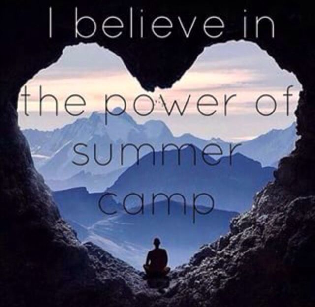 Summer camp is the best