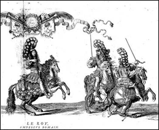 Estampa de Luis XIV como emperador romano.jpg