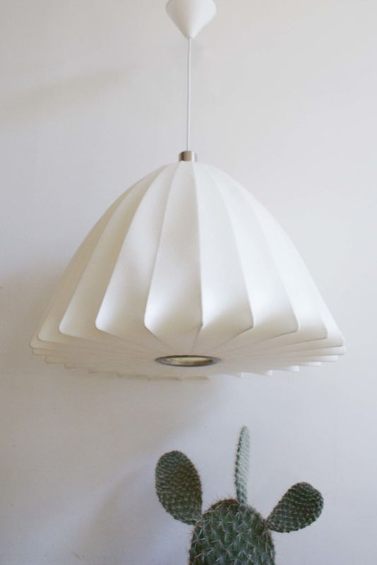 extra large bell bubble lamp retro design lamp van george nelson