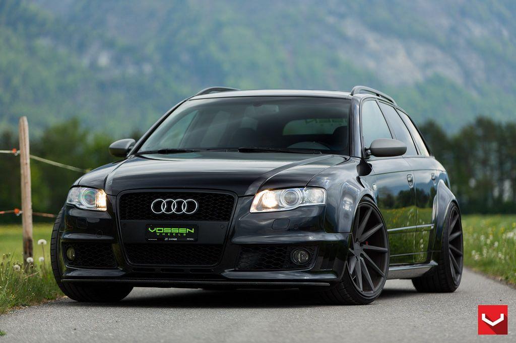 B7 Audi Rs4 Wagon 20 Custom Cvt Vossen Audi Audi Rs4 Audi