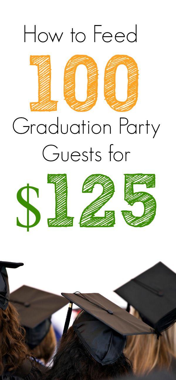 Cheap Graduation Party Food Ideas (Menu for 100 ...