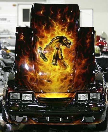 Mustang Paint Jobs : mustang, paint, Google, Image, Result, Http://www.stangbangers.com/Mustang_FlamesHorse_PaintJob.jpg, Custom, Paint,, Painting,, Mustang
