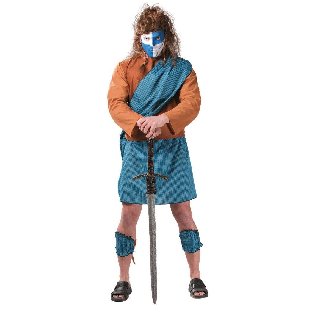 Disfraz de guerrero escocés adulto #disfraces #costumes #medieval