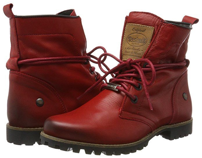 Dockers by Gerli Damen 41IY202-120700 Desert Boots, Rot (Rot), 37 EU