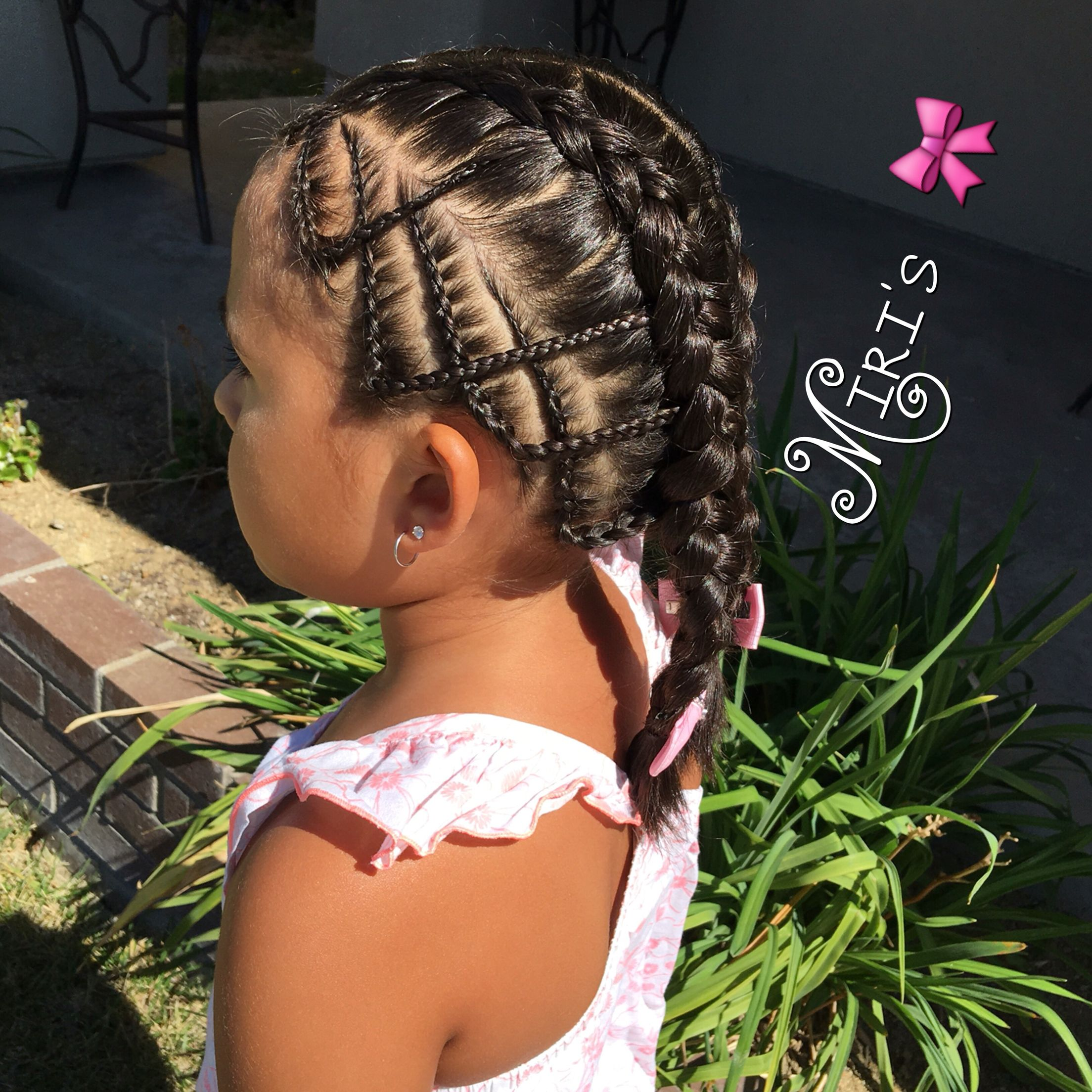Hairstyles For Girls With Mixed Hair: Mixed Girl Hairstyles, Mixed