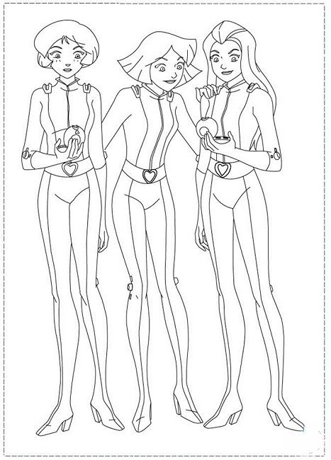 Nothing Found For Totally Spies Coloring Pages Totally Spies Coloring Pages Coloring Pages For Girls
