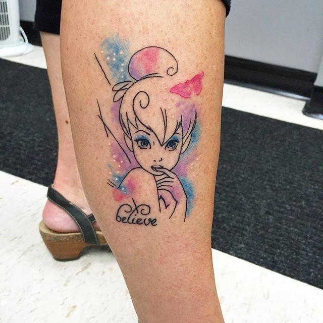 50 Vorschläge Amazing Tattoos Von Tinkerbell Und Fliegen Auf Der