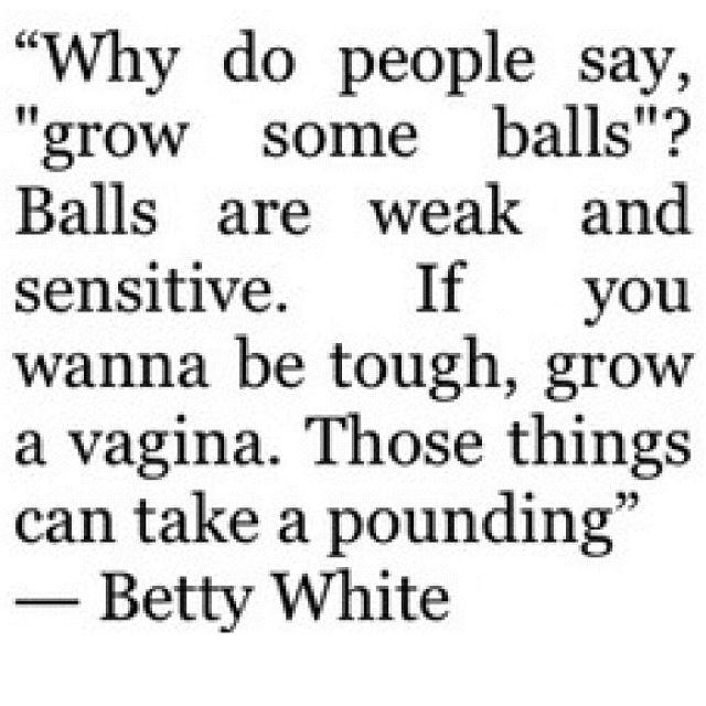Betty White say whaaaaa?