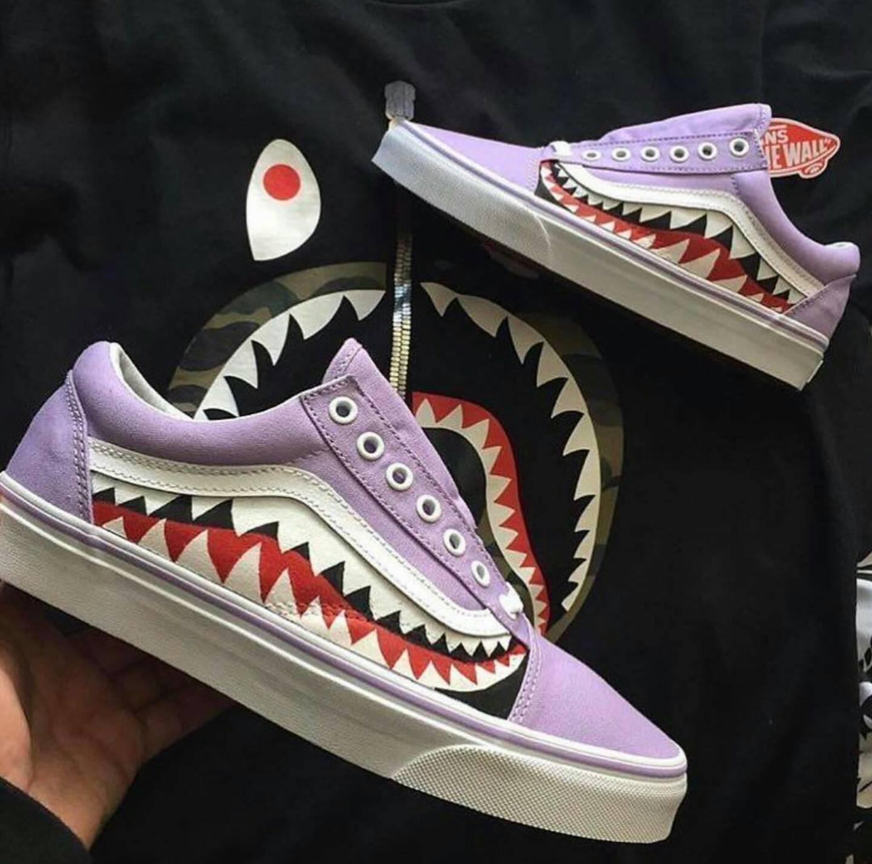 Cool Van S Custom Shoes