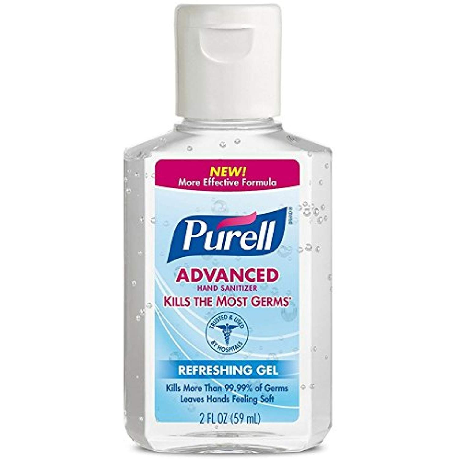 Purell Advanced Hand Sanitizer Refreshing Gel 2 Oz Pack Of 3