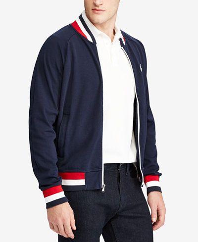54832601446 Polo Ralph Lauren Men's Cotton Bomber Jacket | minimal closet in ...